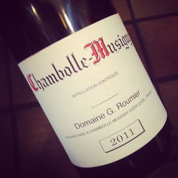 Roumier Chambolle-Musigny 2011