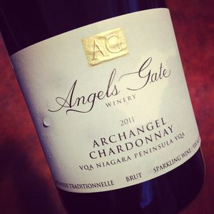Angels Gate Winery Archangel Chardonnay Sparkling Niagara Peninsula 2011_300