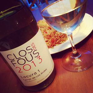 Clos des Fous Chardonnay Locura 1 Terroir de Los Andes 2013_2