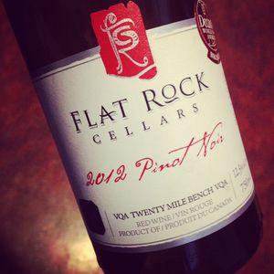 Flat Rock Cellars Pinot Noir Twenty Mile Bench 2012_300