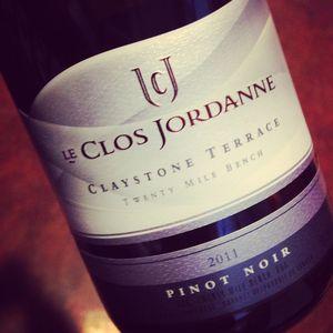 Le Clos Jordanne Pinot Noir Claystone Terrace Twenty Mile Bench 2011_300