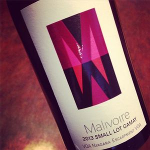 Malivoire Wine Small Lot Gamay Niagara Escarpment 2013_300