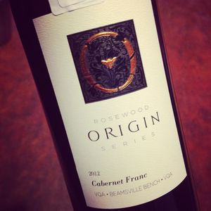 Rosewood Estates Winery Origin Series Cabernet Franc Beamsville Bench 2012_300