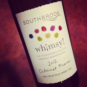 Southbrook Vineyards Whimsy! Cabernet Franc Four Mile Creek 2012_300