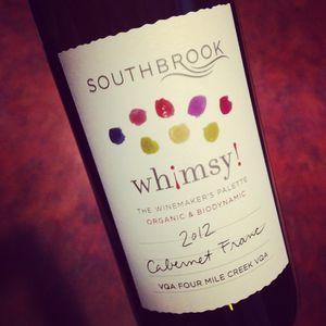 Southbrook Vineyards Whimsy! Cabernet Franc Four Mile Creek 2012_300