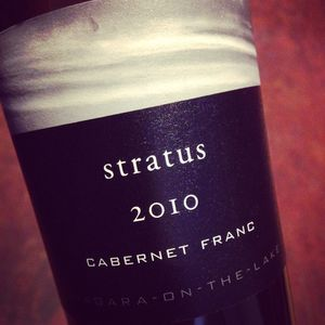 Stratus Vineyards Cabernet Franc Niagara-on-the-Lake 2010_300