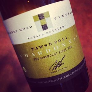 Tawse Winery Quary Road Chardonnay Vinemount Ridge 2011_300