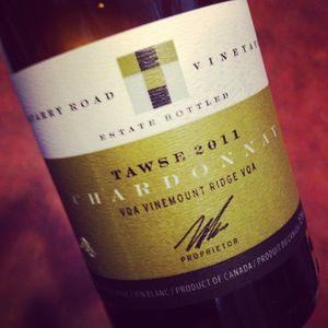 Tawse Winery Quary Road Chardonnay Vinemount Ridge 2011_300