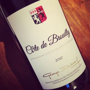 Georges Duboeuf Côte de Brouilly 2012