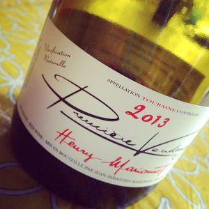 Henry Marionnet Première Vendange Touraine 2013_2