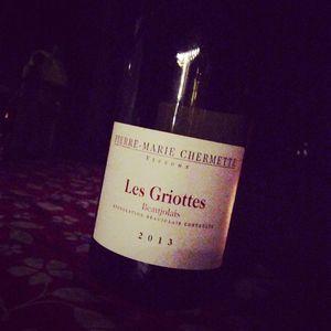 Chermette Domaine du Vissoux Les Griottes Beaujolais 2013_300