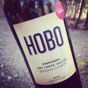 Hobo Wine Company Zinfandel Dry Creek Valley 2013_300