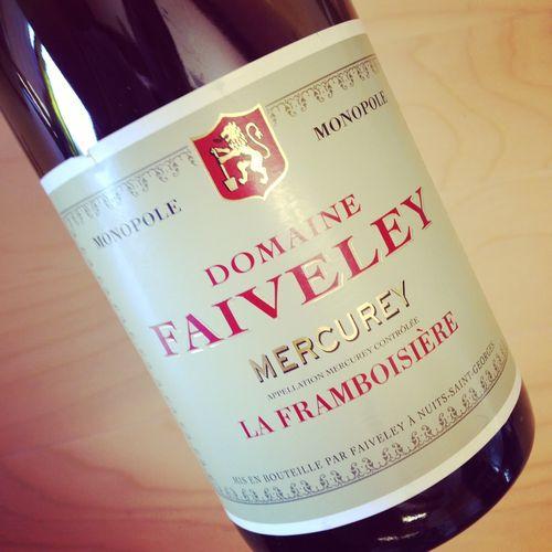Semaine du 4 octobre 2015 Domaine-Faiveley-Mercurey-La-Framboisiere-2013