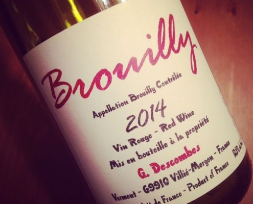 Georges Descombes Brouilly 2014