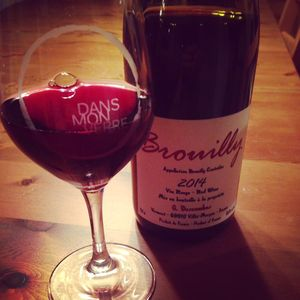 Georges Descombes Brouilly 2014_2
