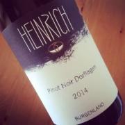 Heinrich Pinot Noir Dorflagen Burgenland 2014