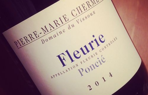 Pierre-Marie Chermette Fleurie Poncié 2014