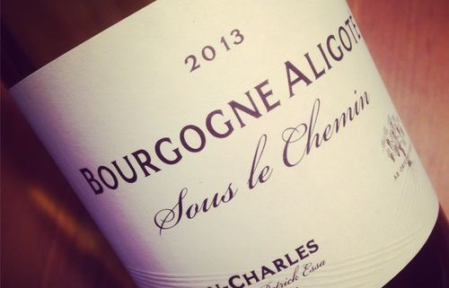 Domaine Buisson-Charles Bourgogne Aligoté Sous le Chemin 2013