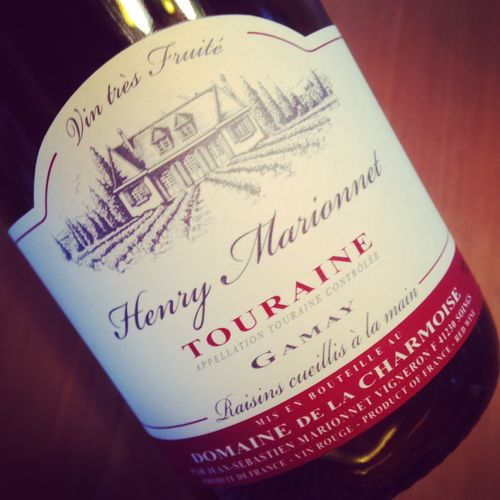 Henry Marionnet Domaine de la Charmoise Touraine 2014
