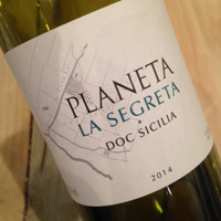 Planeta La Segreta Bianco DOC Sicilia 2014