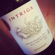 Mongras Intriga Cabernet-Sauvignon Maipo 2012
