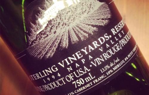 Sterling Vineyards Reserve SVR Napa Valley 1994