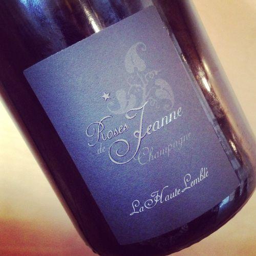 Cédric Bouchard Roses de Jeanne Champagne Blanc de Blancs La Haute-Lemblé 2011
