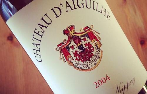 Château d'Aiguilhe Côtes de Castillon 2004