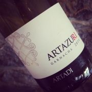 Artadi Artazuri Garnacha Navarre 2014