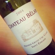 Château Bélair Saint-Émilion 1er Grand Cru Classé 2004