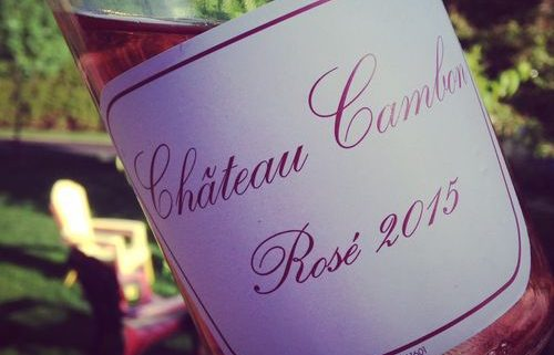 Château Cambon Beaujolais Rosé 2015