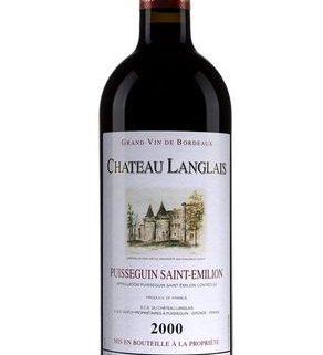Château Langlais Puisseguin Saint-Emilion 2000