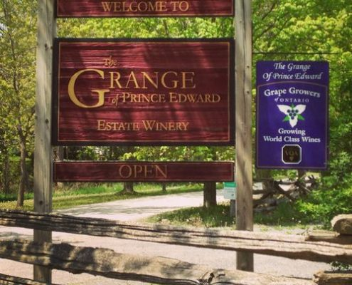 Visite à PEC mai 2016 - Grange of Prince Edward Vineyards and Estate Winery