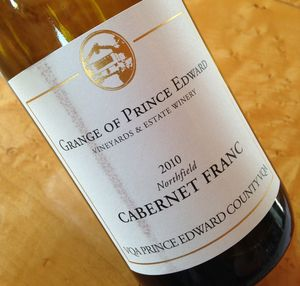 Grange of Prince Edward Northfield Cabernet Franc