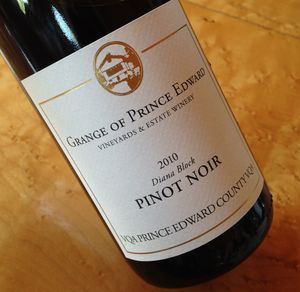 Grange of Prince Edward Diana Block Pinot Noir