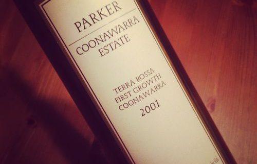 Parker Coonawarra Estate Terra Rossa First Growth Coonawarra 2001