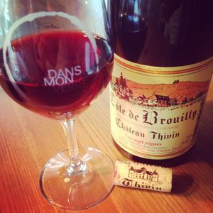 Château Thivin Côte de Brouilly Cuvée Les Sept Vignes 2014