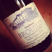 Domaine Laurent Martray Brouilly Combiaty 2014