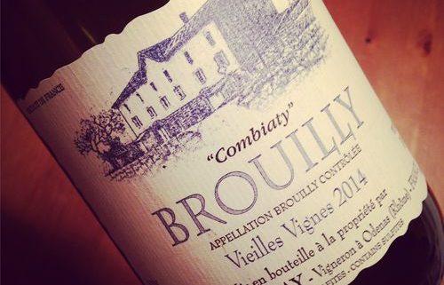 Domaine Laurent Martray Brouilly Combiaty 2014