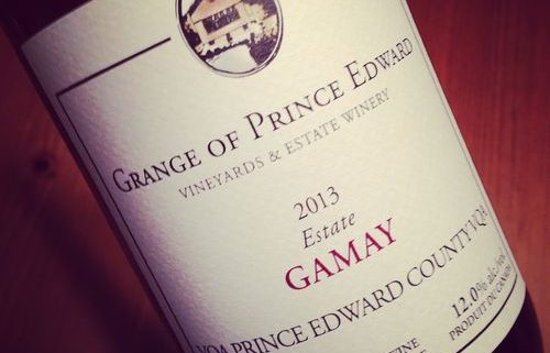 Grange of Prince Edward Estate Gamay VQA Prince Edward County 2013