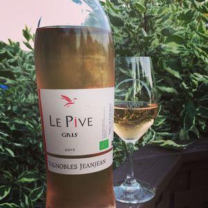 Vignobles Jeanjean Le Pive Gris 2015