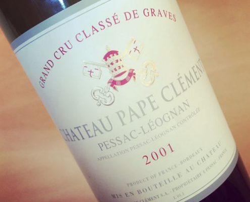 Château Pape Clément Grand Cru Classé Pessac-Léognan 2001