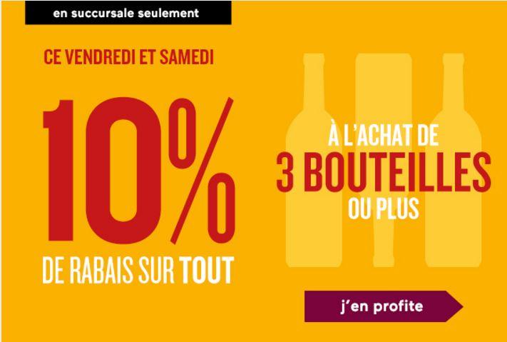 10% sur trois (3) bouteilles les 2 et 3 septembre prochain 10-2-3-septembre-2016