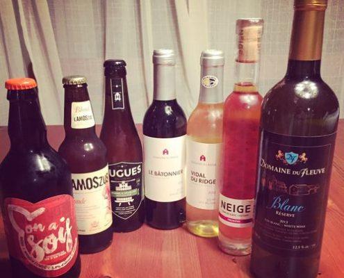 Boire local - produits du Québec
