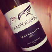 Campobarro Tempranillo Ribera del Guadiana 2015
