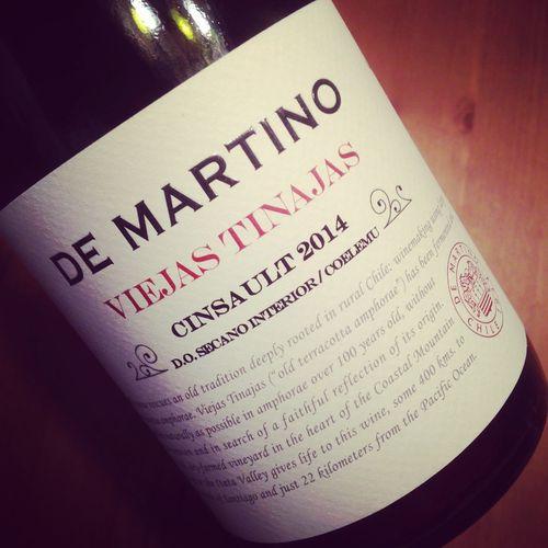 Semaine du 25 septembre 2016 De-Martino-Cinsault-Viejas-Tinajas-DO-Secano-Interior-2014