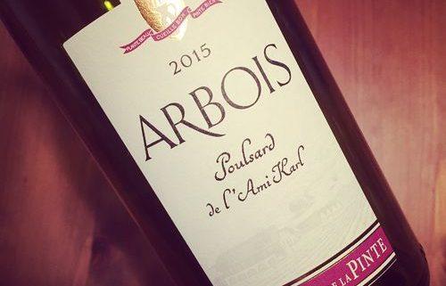 Domaine de la Pinte Poulsard de l'Ami Karl Arbois 2015