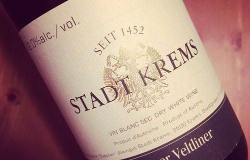 Weingut Stadt Krems Grüner Veltliner Kremstal Austria 2015