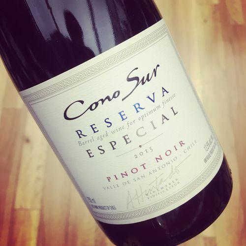 Cono Sur Pinot Noir Reserva Especial Valle de San Antonio 2015