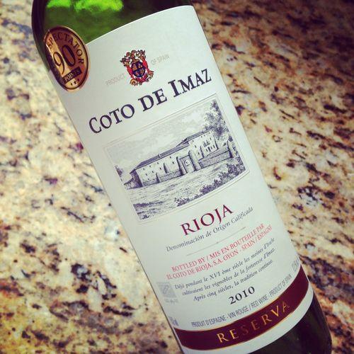 Coto de Imaz Rioja Reserva 2010